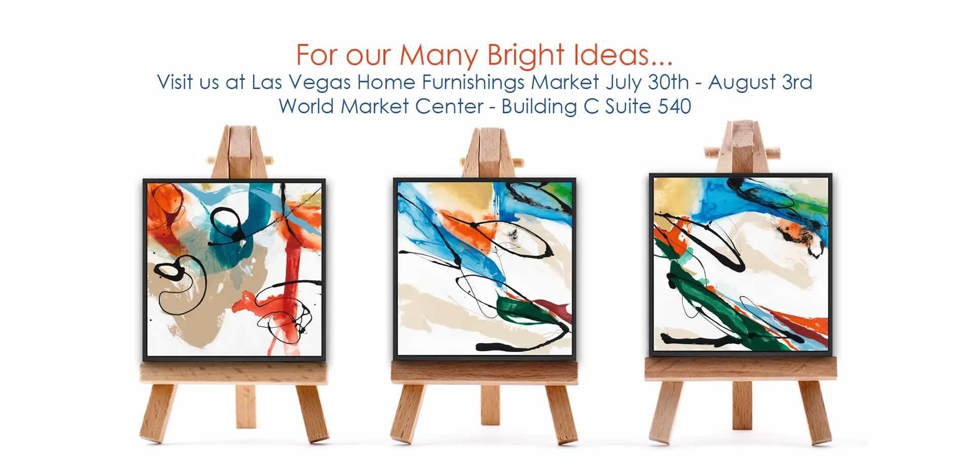 Visit us at Las Vegas Home Furnishings Market