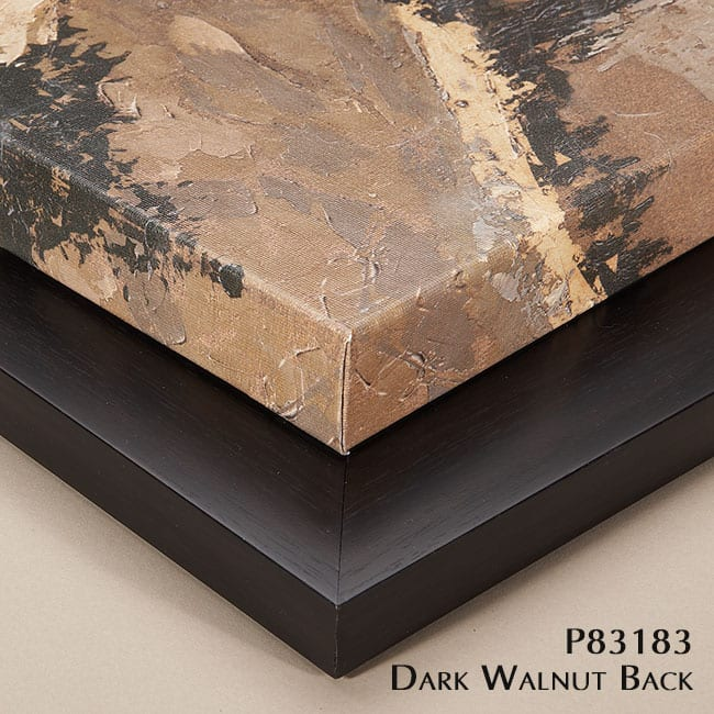 P83183 Dark Walnut Back