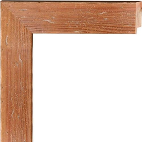 Distressed Pecan Wood Frame - 80470