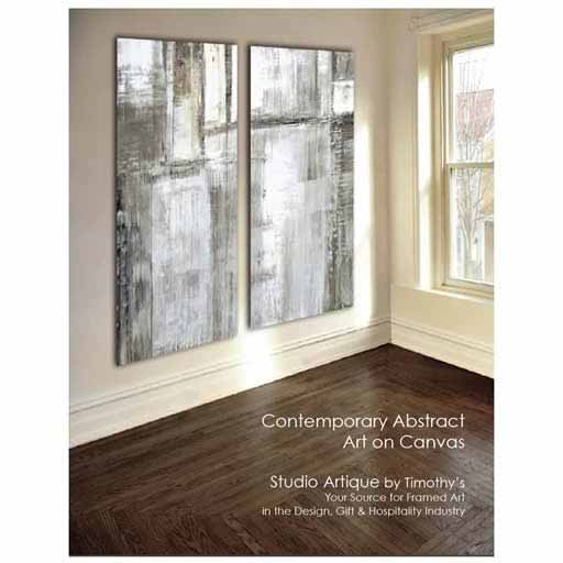 Abstract Art On Canvas Cover